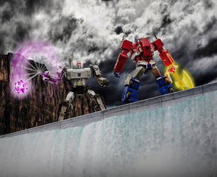 The Battle at Sherman Dam [Photoshop] by rockdog80