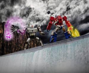 The Battle at Sherman Dam [Photoshop]