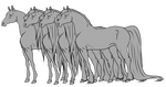 Horse Lineart Pack - Retired
