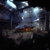 Sci-Fi Environment by KSLR