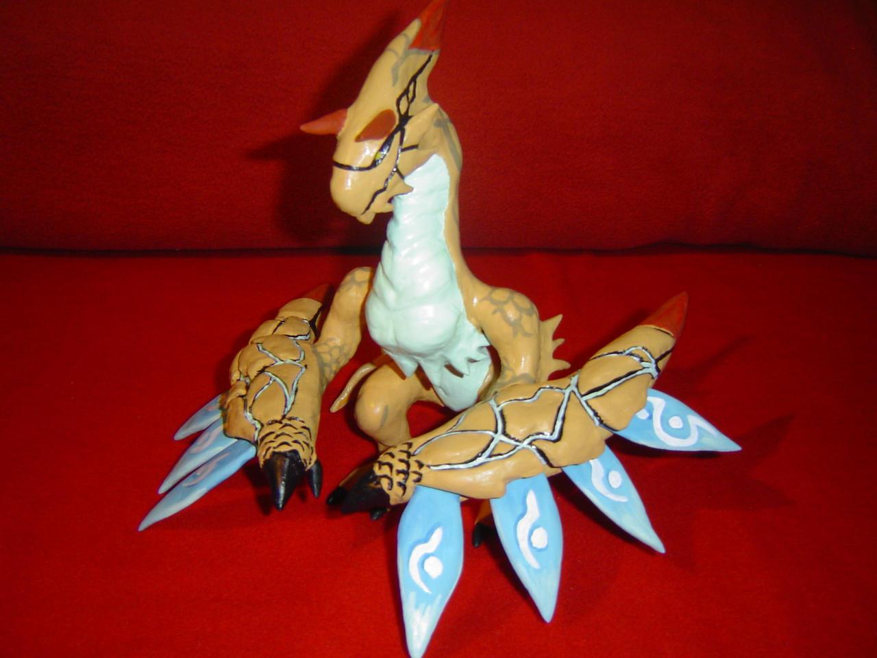 Kaiser Dragon Modelling Clay By RedDragonTyr On DeviantArt