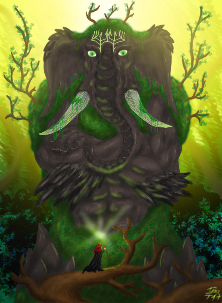 Elephant Life Colossus RIFT by RedDragonTyr