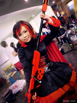 AMG15 COSPLAY : Ruby Rose