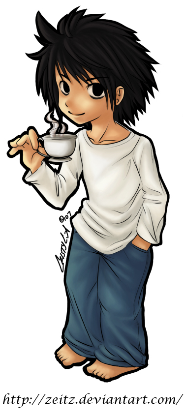 L Lawliet Chibi by Zeitz on DeviantArt