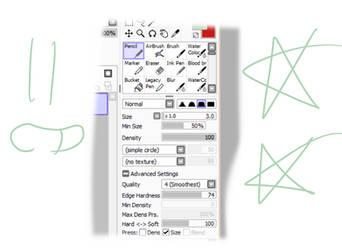 Pen settings by LupusLimara