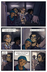 Subway shenanigans page 1 - practice comic