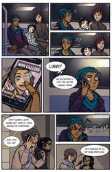 Subway shenanigans page 3 - practice comic