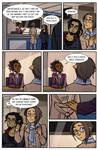 Subway shenanigans page 4 - practice comic