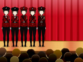 Ultmarian Officer Uniforms (Part 3) by MechaSamurai