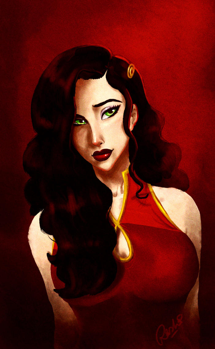 Asami by fuzzypinkmonster