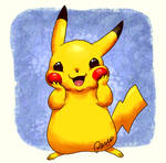Pikachu knows he is the cutest by fuzzypinkmonster
