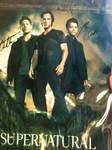 SIGNED Supernatural Poster! :D