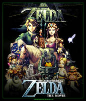 Zelda Movie Poster Artwork by SoenkesAdventure