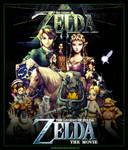 Zelda Movie Poster Artwork