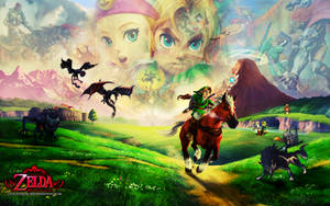 Zelda's 25th Anniversary Walli by SoenkesAdventure