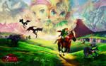 Zelda's 25th Anniversary Walli