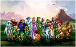 The Legend of Zelda Chars