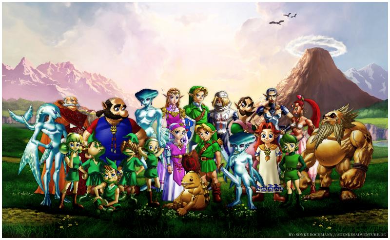 The Legend of Zelda Chars by SoenkesAdventure on DeviantArt