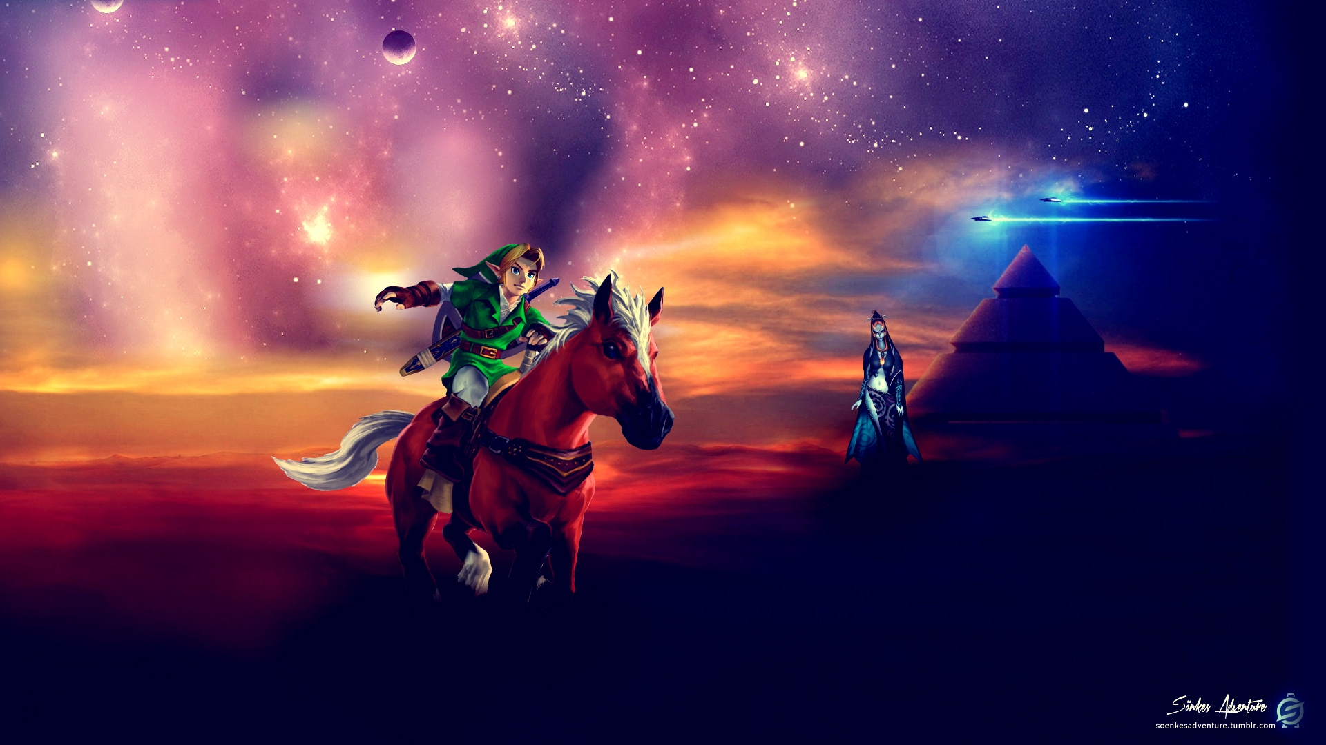 The Legend of Zelda - Space Odyssey 2124 by SoenkesAdventure