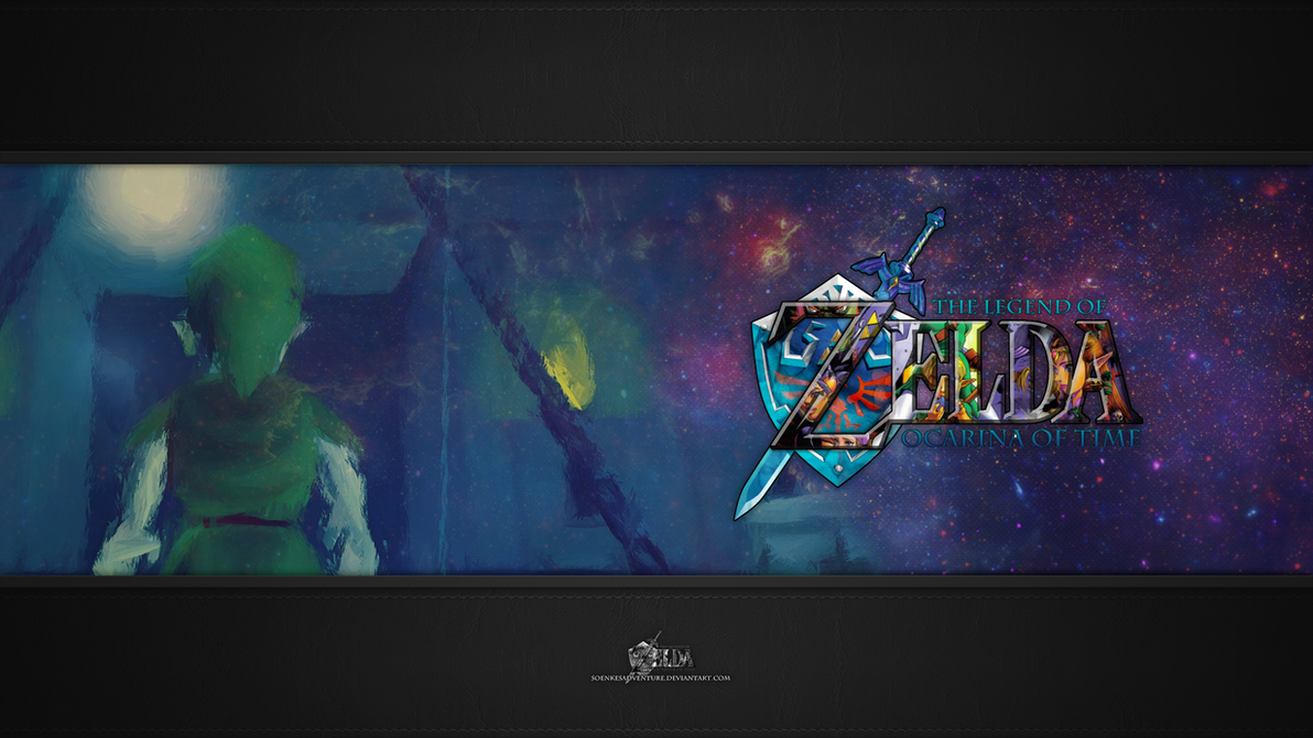 Zelda - Ocarina of Time Wallpaper Full HD 1080p by SoenkesAdventure