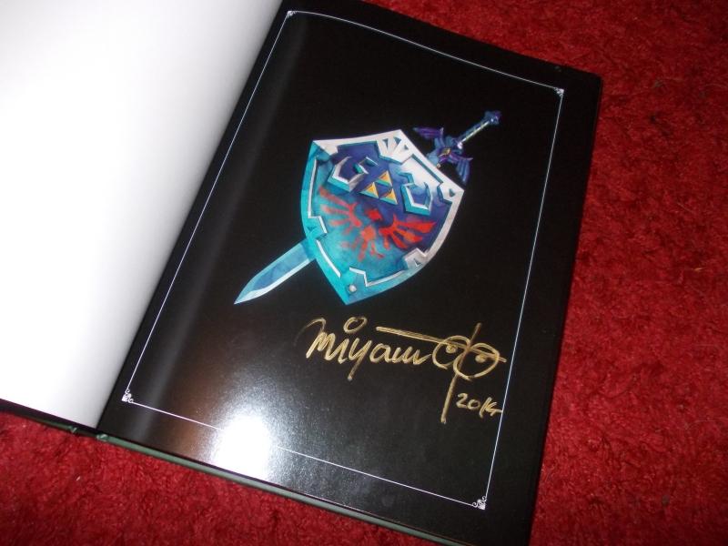 Zelda Hyrule Historia signed by Miyamoto on Ebay by SoenkesAdventure