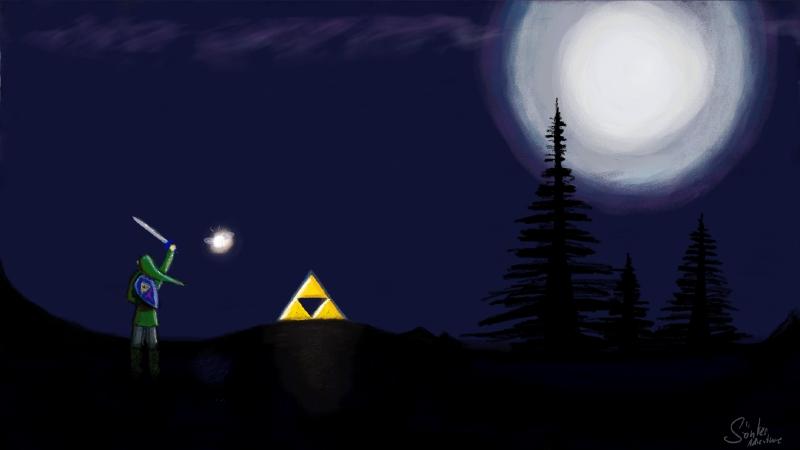 Zelda WiiU Draw by SoenkesAdventure