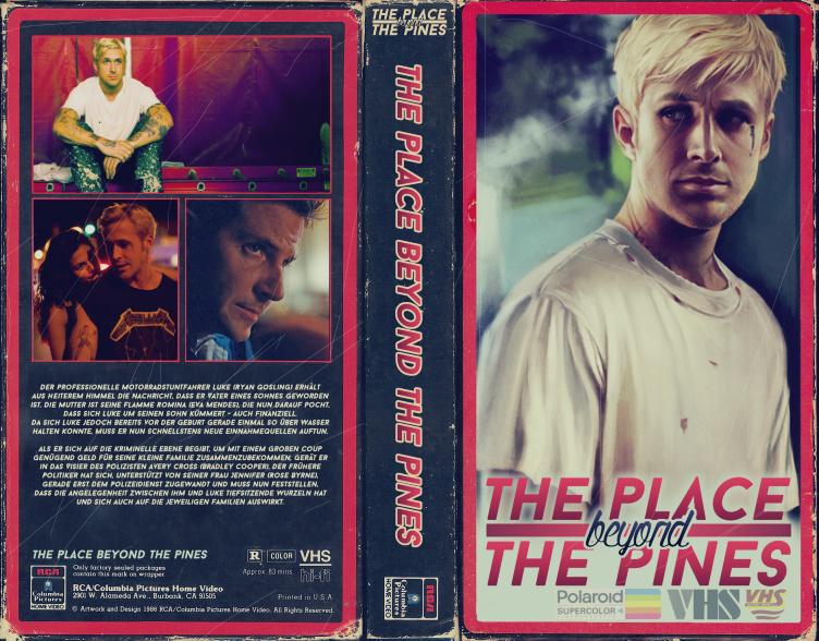 VHS Art: The Place Beyond The Pines by SoenkesAdventure