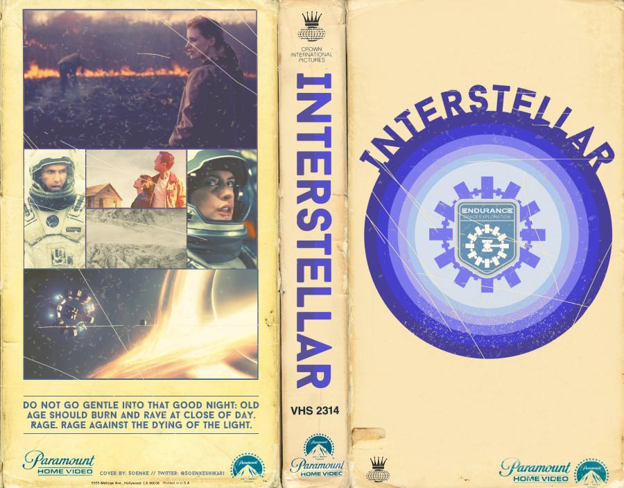 VHS Art: Interstellar by SoenkesAdventure