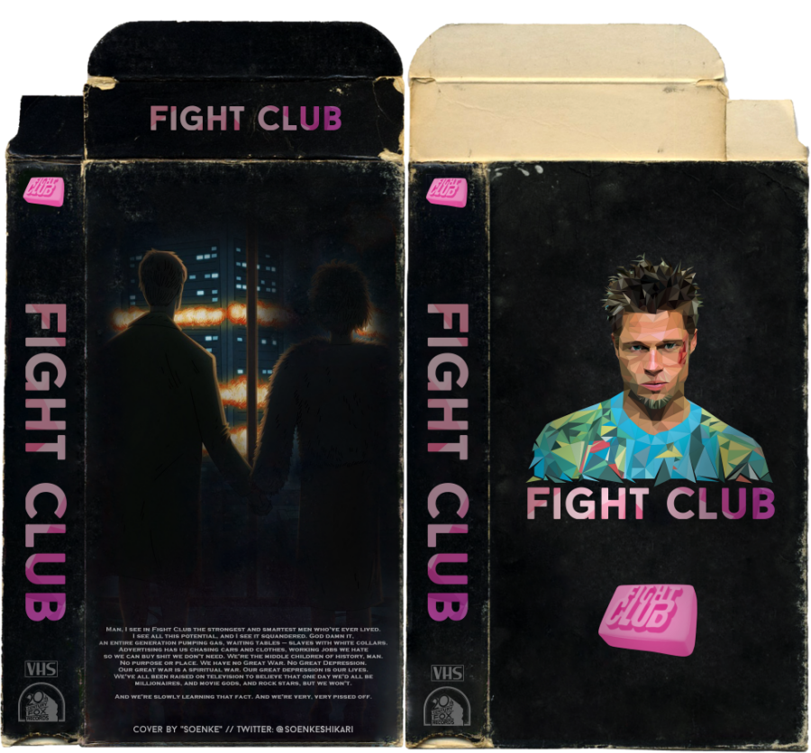 VHS Art: Fight Club Boxart by SoenkesAdventure