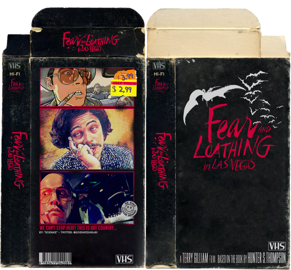 VHS Art: Fear and Loathing in Las Vegas Boxart by SoenkesAdventure
