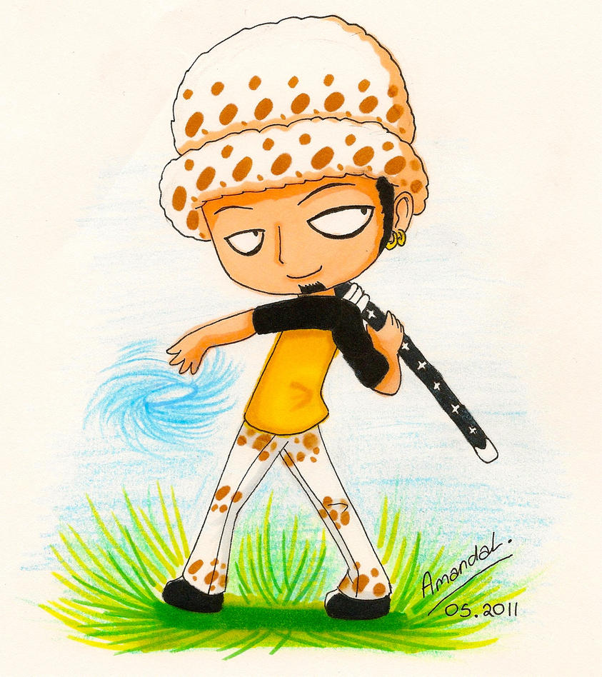 One Piece: Chibi Trafalgar Law by aaamaaa on DeviantArt
