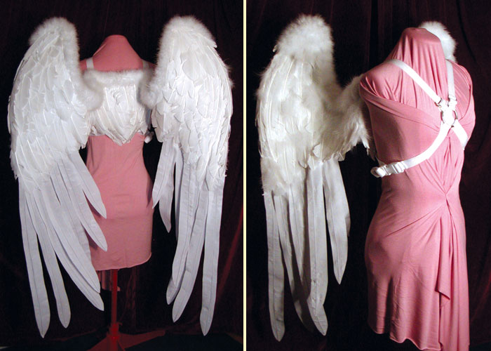 White Angel Wings by starbright2040