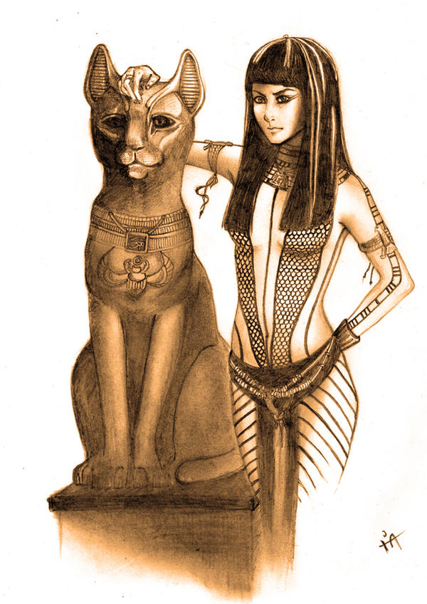 Like An Egyptian Queen By My Crakotte World On Deviantart