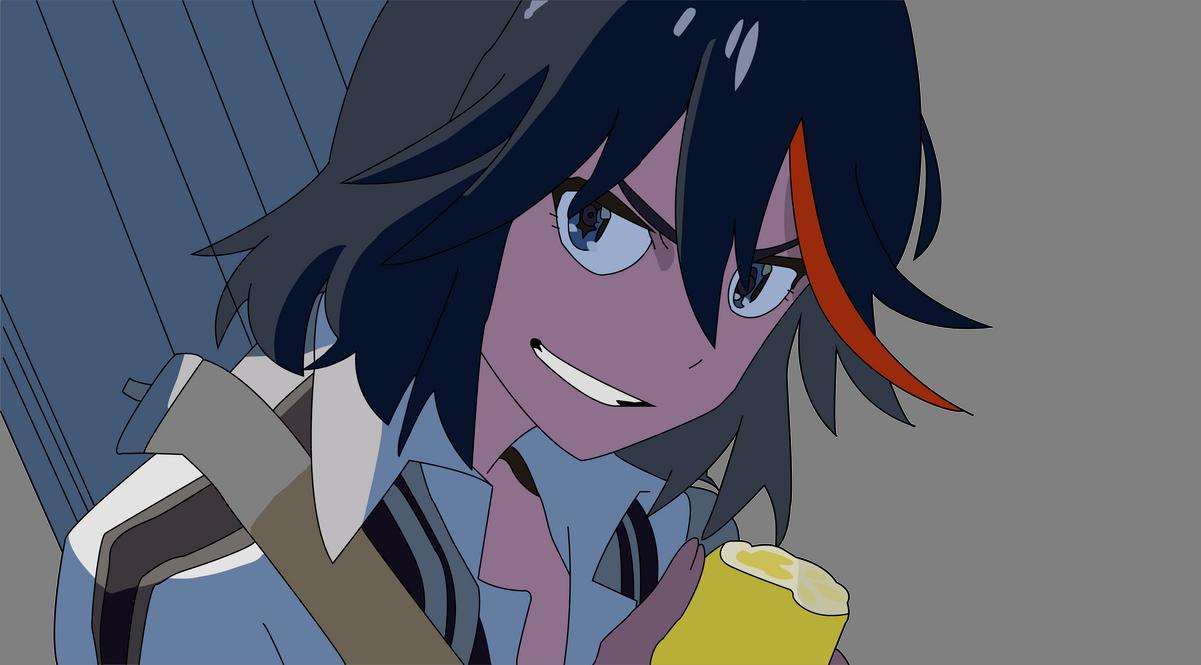 Ryuko Matoi - Kill La Kill by Di3Ris3 on DeviantArt
