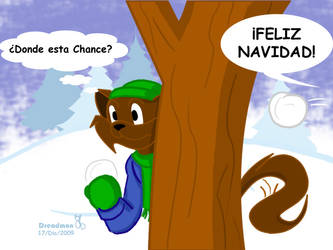 Guerra de nieve by Dreadmon