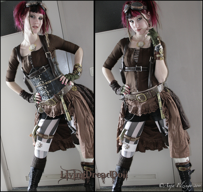 Ste&unk outfit by LivingDreadDoll ...  sc 1 st  DeviantArt & Steampunk outfit by LivingDreadDoll on DeviantArt