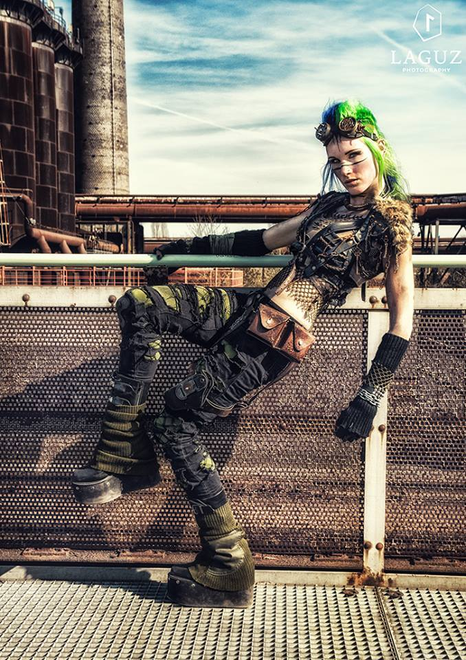 Post Apocalyptic warrior - Livingdreaddoll by LivingDreadDoll