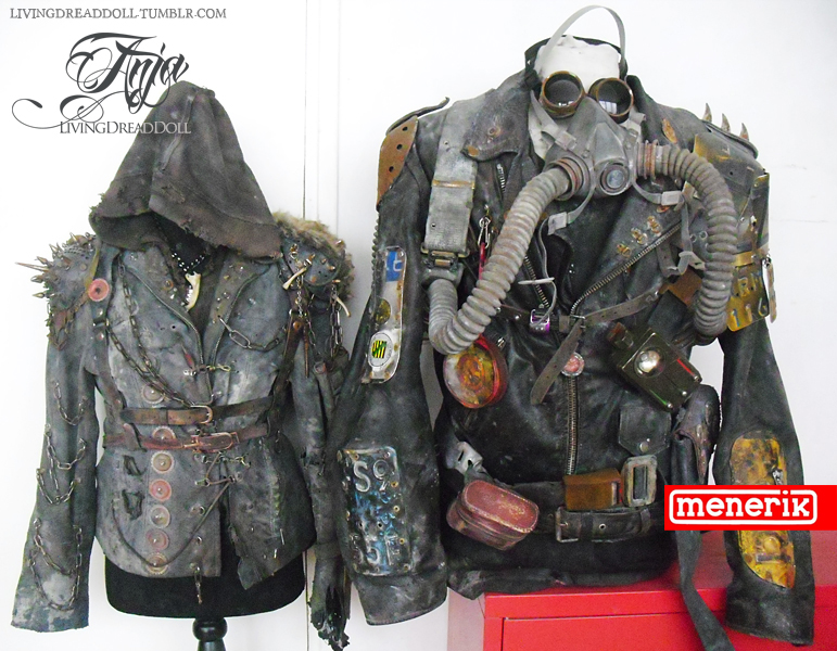 wasteland couple outfit by LivingDreadDoll