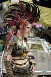 Wasteland Warrior  - feather headpiece