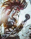 Badass Wasteland Warrior - LivingDreadDoll