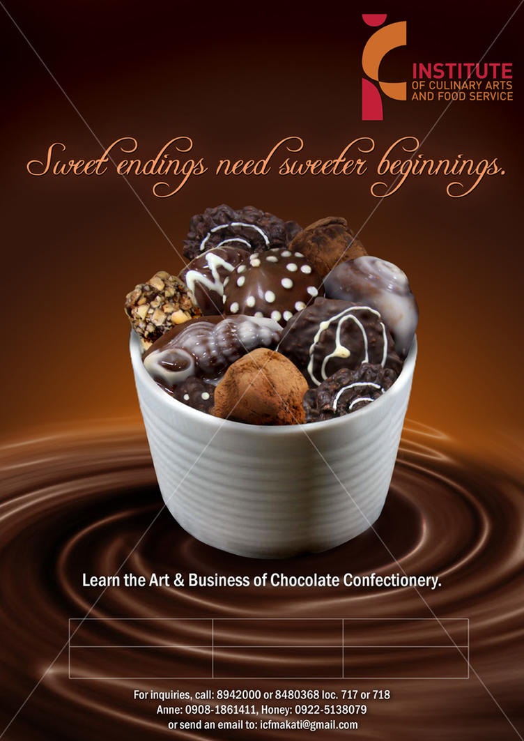 ICF Chocolate Seminars Poster by tqantiq on DeviantArt