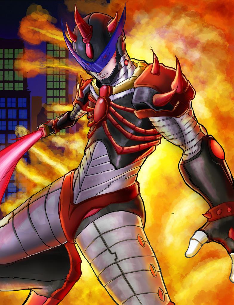 Darkbitcold In Zero Nightmare Armor by Darkbitcold