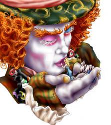 Tarrant + Alice : Colored by ChocolateFrizz89