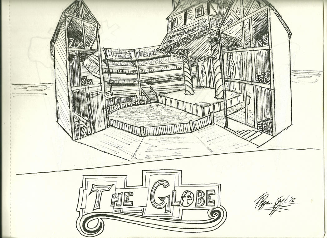 The Globe Theatre By Rgreen42