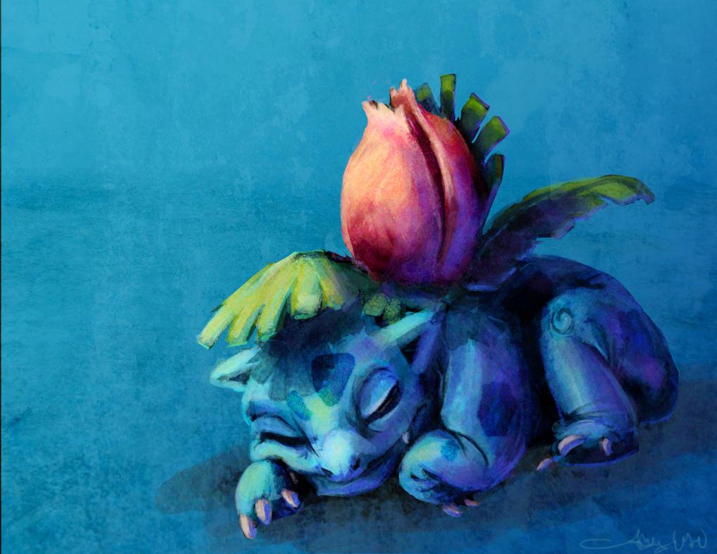Sleepysaur by Inaara