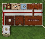X2 - Castle-Amber West Wing Map
