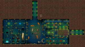 Castle-Amber Dungeon Map