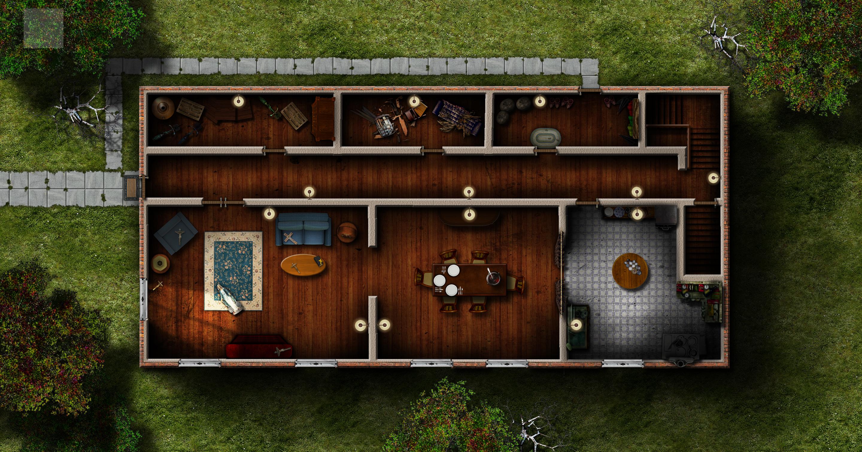 C.O.C: The Haunting - Corbitt House 1F