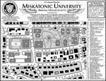 Miskatonic University Campus Map