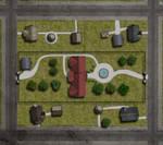 COC:Raid on Innsmouth-Marsh Estate Map